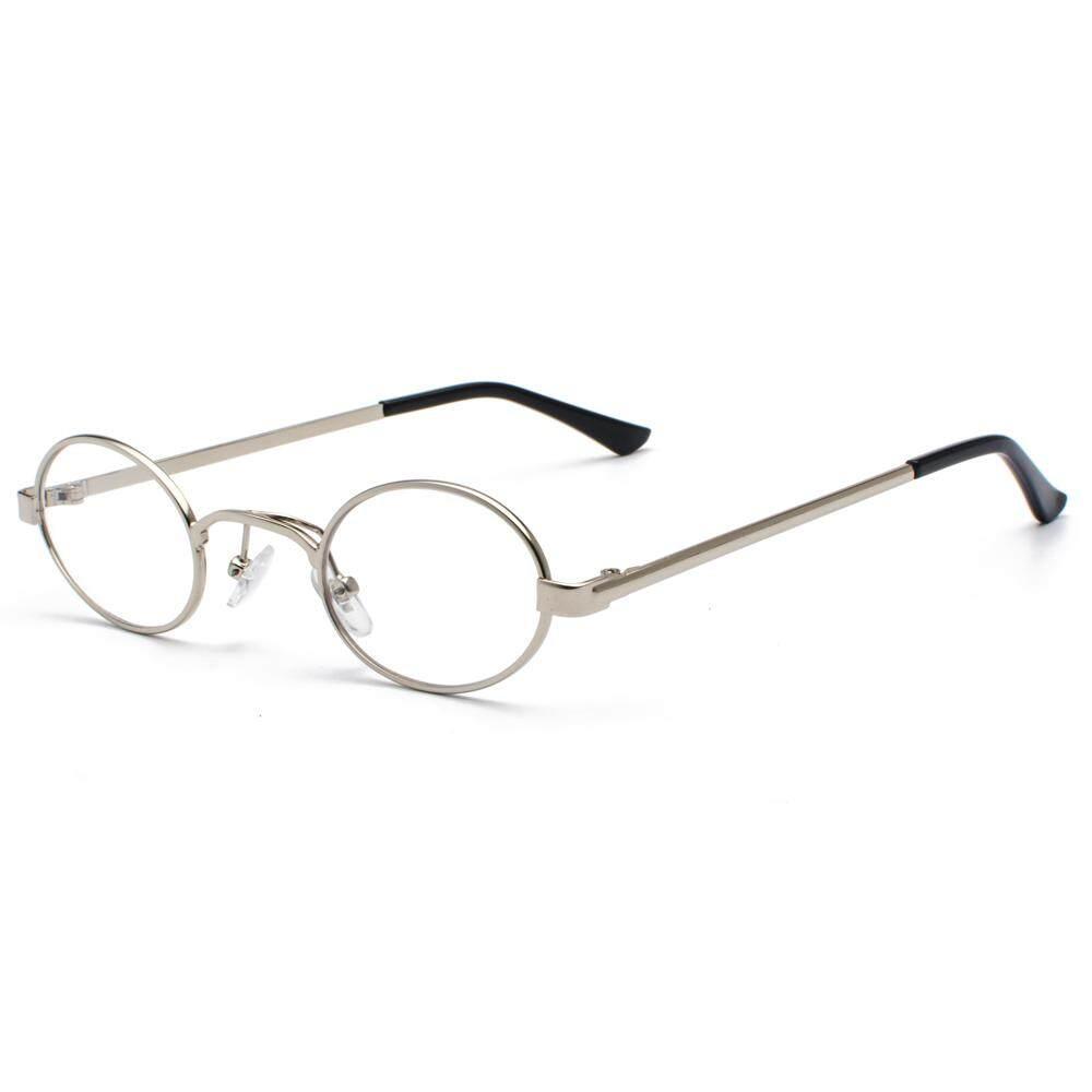 4cf7b1e5df Small Oval Sunglasses Men Round 2018 Metal Frame Unisex Gold Black Small Sun  Glasses for Women