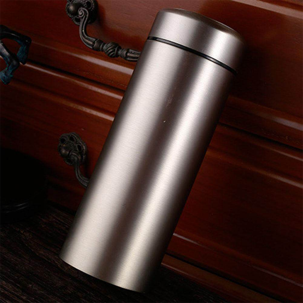 Buy Sell Cheapest 450ml Silver Thermos Best Quality Product Deals Qkella Botol Minum Stainless Steel Magic Cube Outdoor Vacuum Cup For Office Home Car Hotel Hospital School Traveling