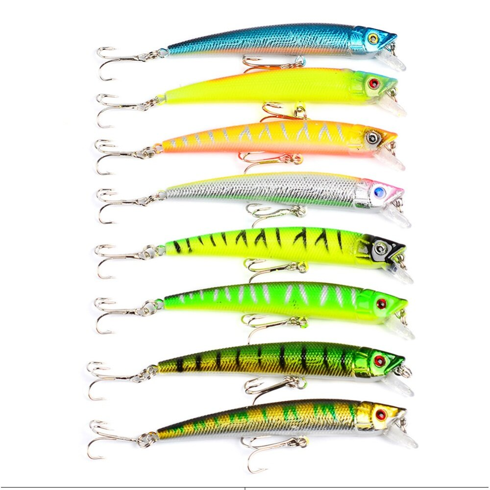 Product details of PAlight 43 Pcs/ Set Minnow Fly Fishing Lure Sets Hard Bait Lures
