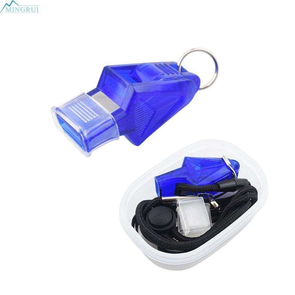 Hình ảnh Mingrui Store 4 Colors 130dB Survival Whistle Whistle Sports Referee Whistle