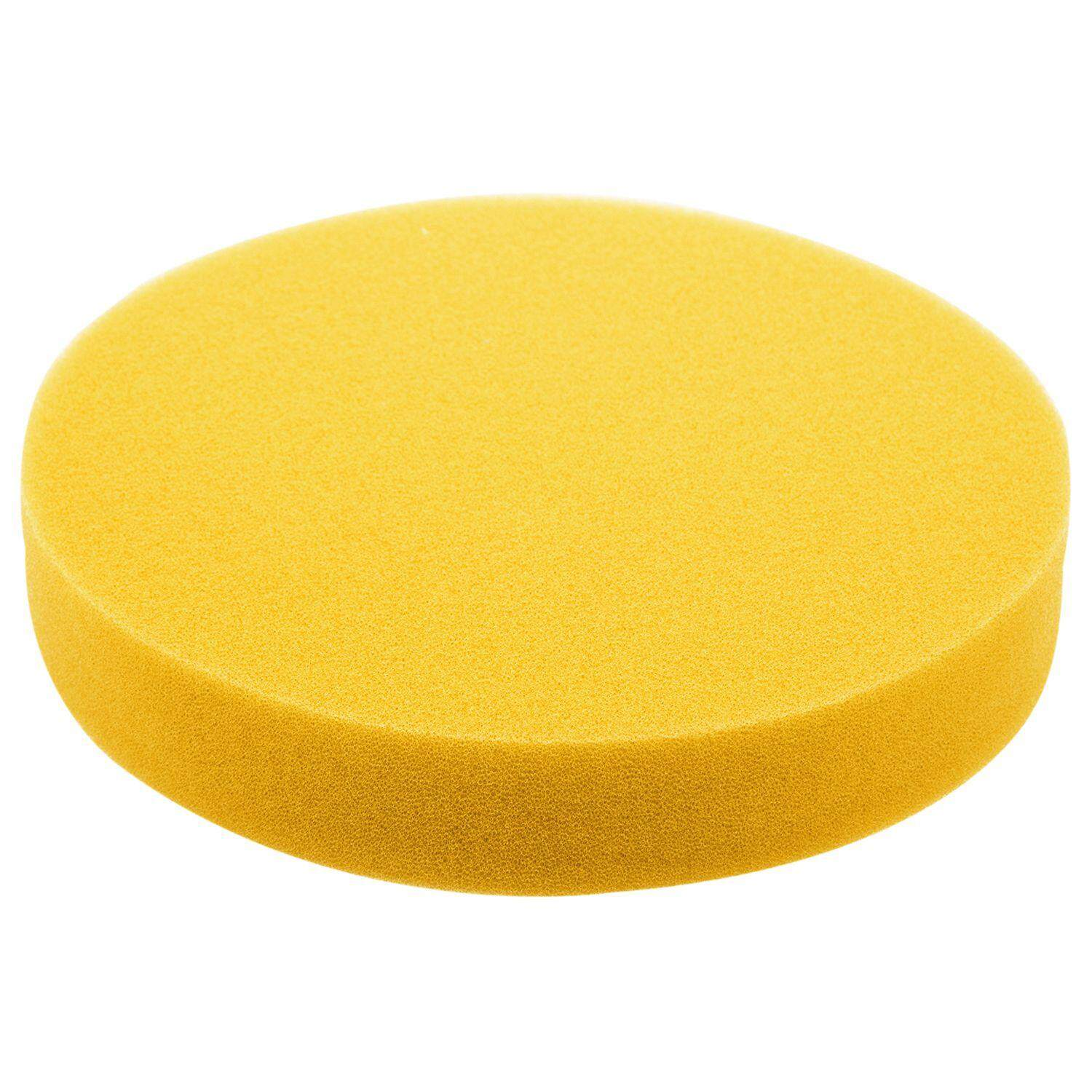 6 Inch 150mm Soft Flat Sponge Buffer Polishing Pad Kit For Auto Car Polisher Color:yellow By Yomichew.
