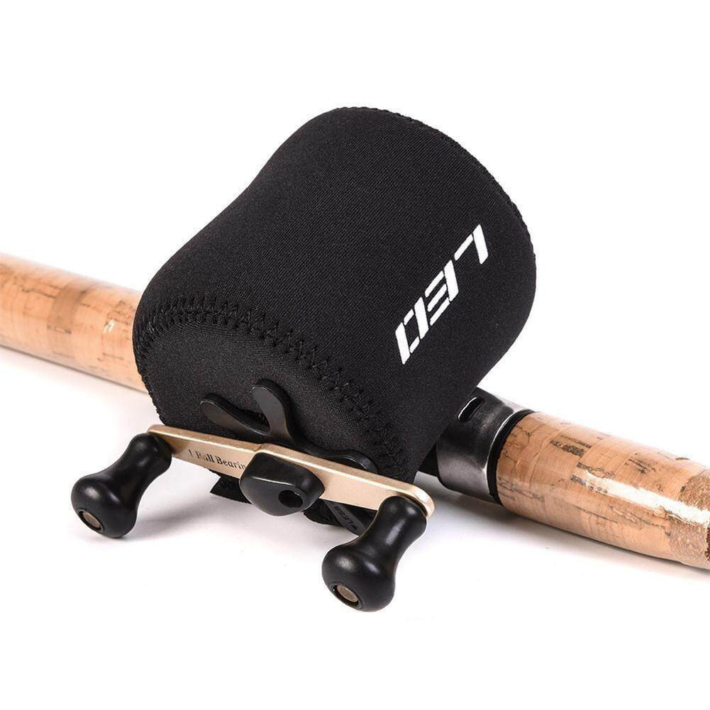 Elastic Lure Fishing Reel Cover Nylon Protective Case Bag - Intl By Storeshop.