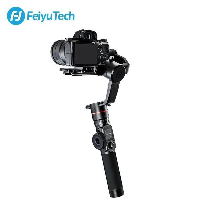 [READY STOCK] FeiyuTech AK2000 3-Axis Camera Stabilizer 2.8KG Payload with Follow Focus Zoom for Sony Canon 5D Panasonic GH5/GH5S Nikon D850 FOC AK Series Follow Focus