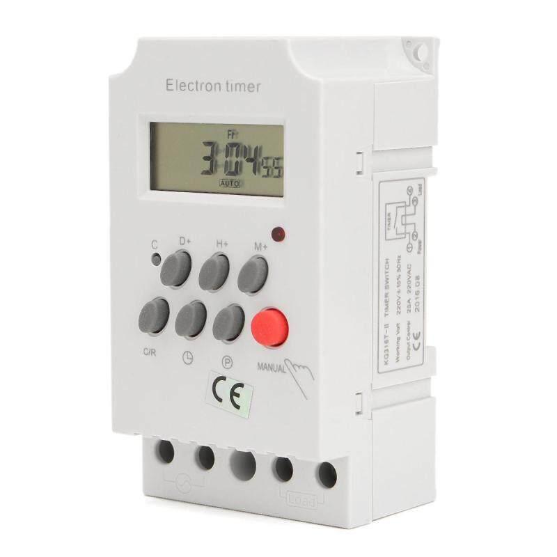 Bảng giá Công Tắc Hẹn Giờ Điện Tử Lập Trình Kỹ Thuật Số AC 220V 25A Din Cho KG316T-II- Phong Vũ