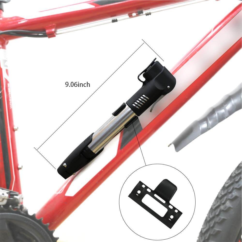 Detail Gambar Drbike 2 Penggunaan Pompa Udara Sepeda Katup Presta Schrader Ban Tabung Inflator Sepeda Sepeda