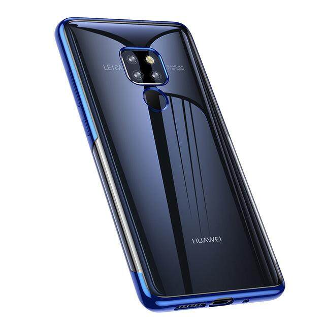Baseus For Huawei Mate 20 Huawei Mate 20 Pro Luxury Plating TPU Case Ultra Thin Soft