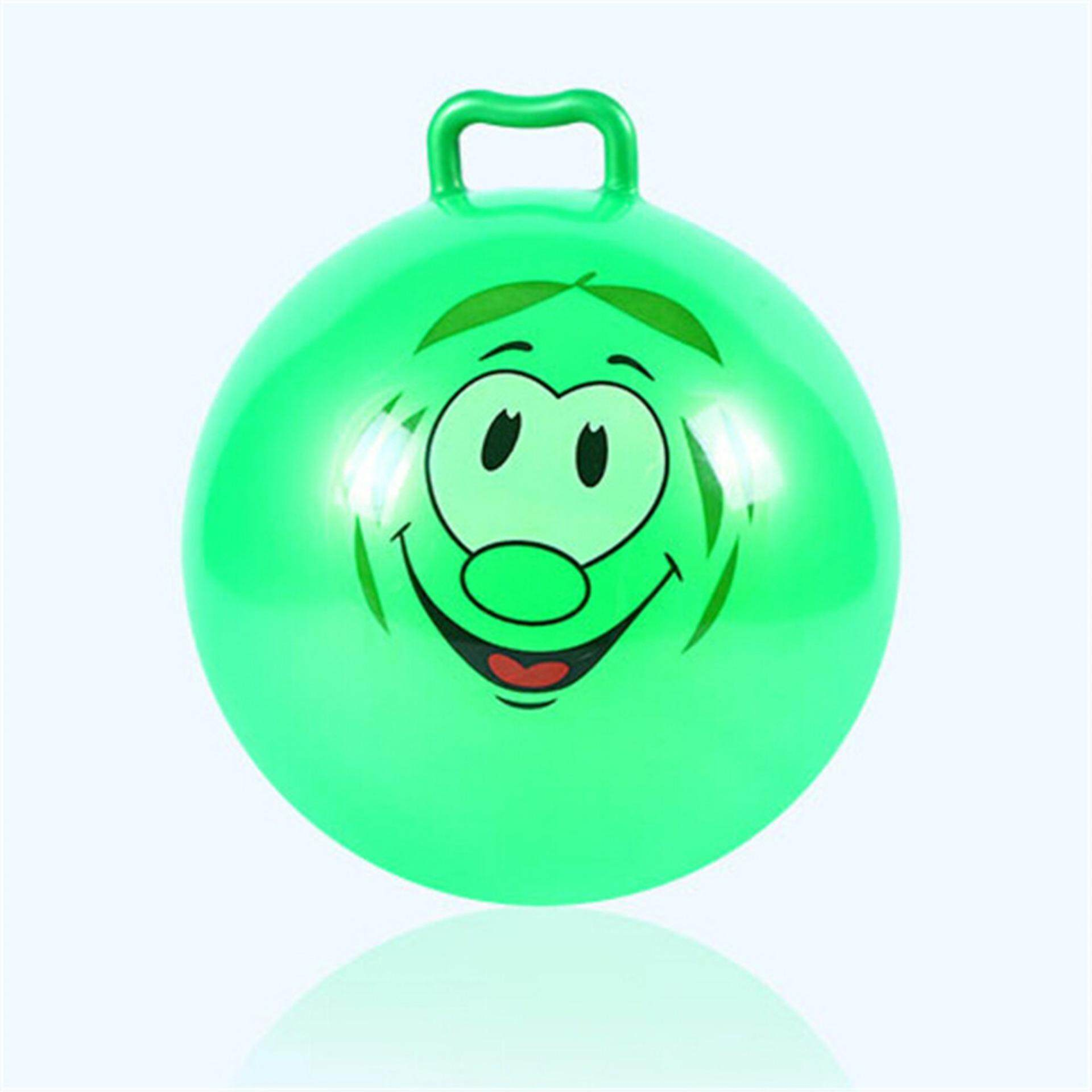 Inflatable Hopping Jumping Ball Bouncer Hopper Handle Kids Outdoor Fun Beach Toy Random Colour By Gorgeous Road.