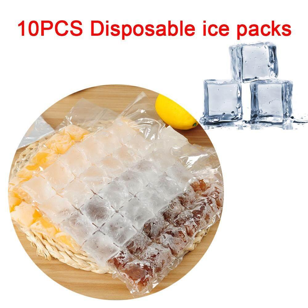 Ice Cube Tray Cetakan PE Sekali Pakai Ramah Lingkungan Baru Minum Penyegelan Diri Tas Es Membuat Tas Es Krim Cetakan