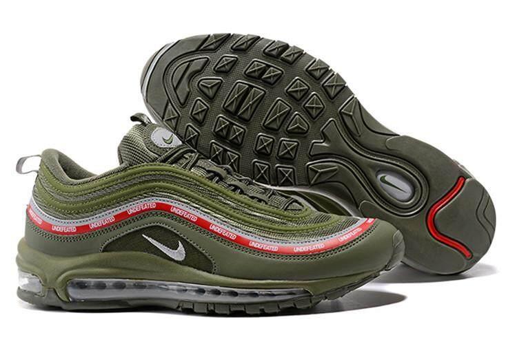 buy popular 2c4cf 64cc1 Nike Official Air Max 97 Low Top MENS Running Shoe Sport ( Black White )