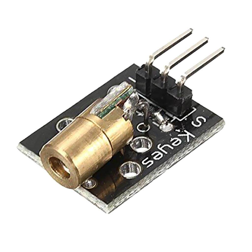 Miracle Shining KY-008 650nm 6mm 5V 5mW mini Laser Dot Diode Module Copper Head