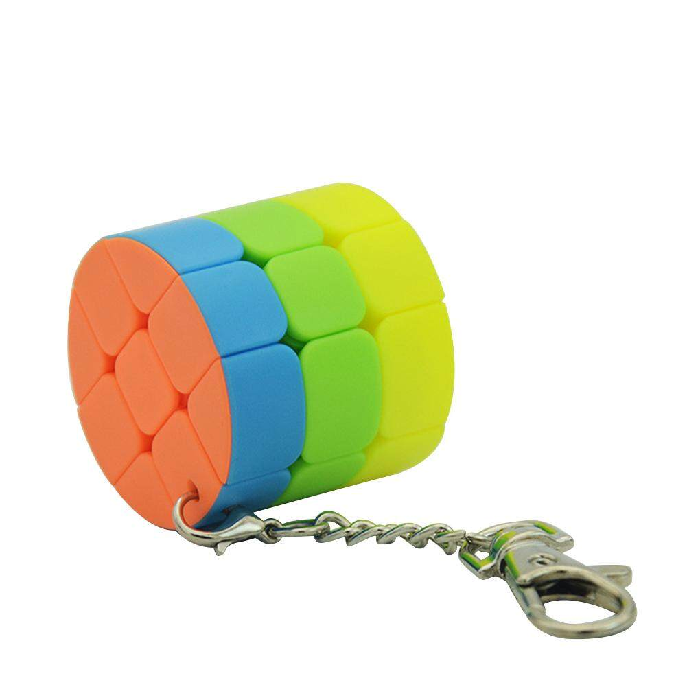 Big Sale Lefang Small Cube Key Ring 3*3 & 2 * 2 Cylindrical Trihedron Cube Keychain Toy By Four Season Big Sale.