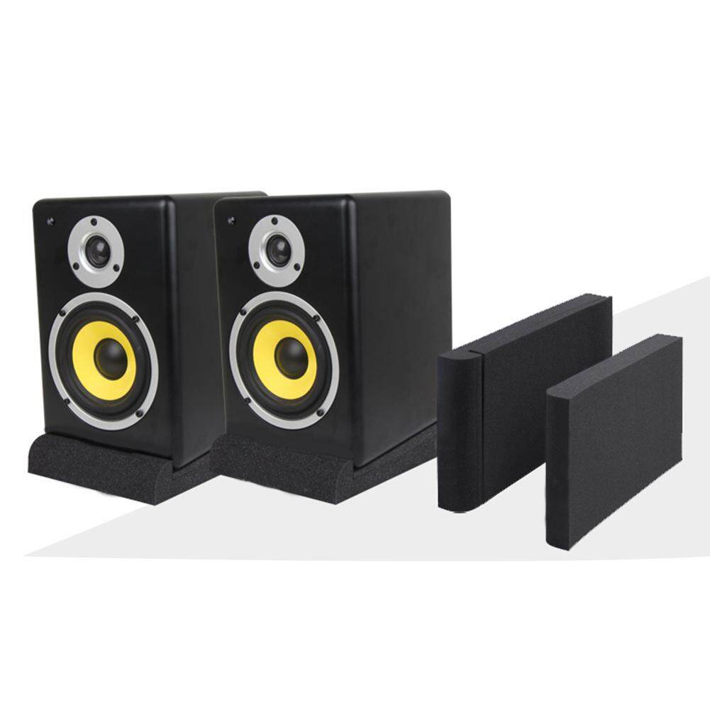 Sponge Studio Monitor Speaker Acoustic Isolation Foam Isolator Pads - intl
