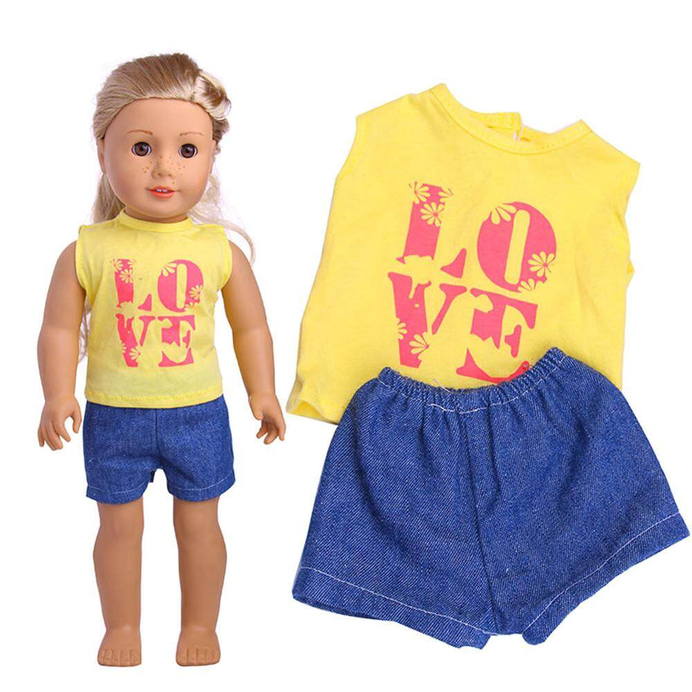 c4f848f22582a 【free shipping】Clothes Wardrobe Clothes Dress For 18 Inch American Boy Doll  Accessory Girl Toy aitao