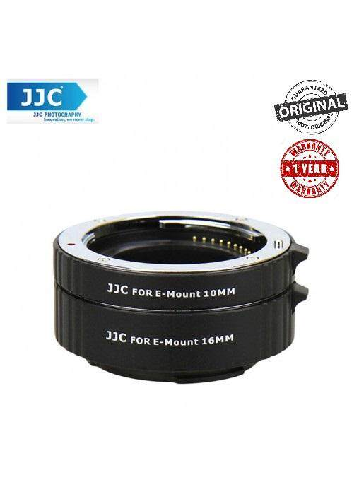 JJC AET-NEXS 10MM+16MM Automatic Extension Tube For Sony NEX E-Mount A6300, A7, A6000