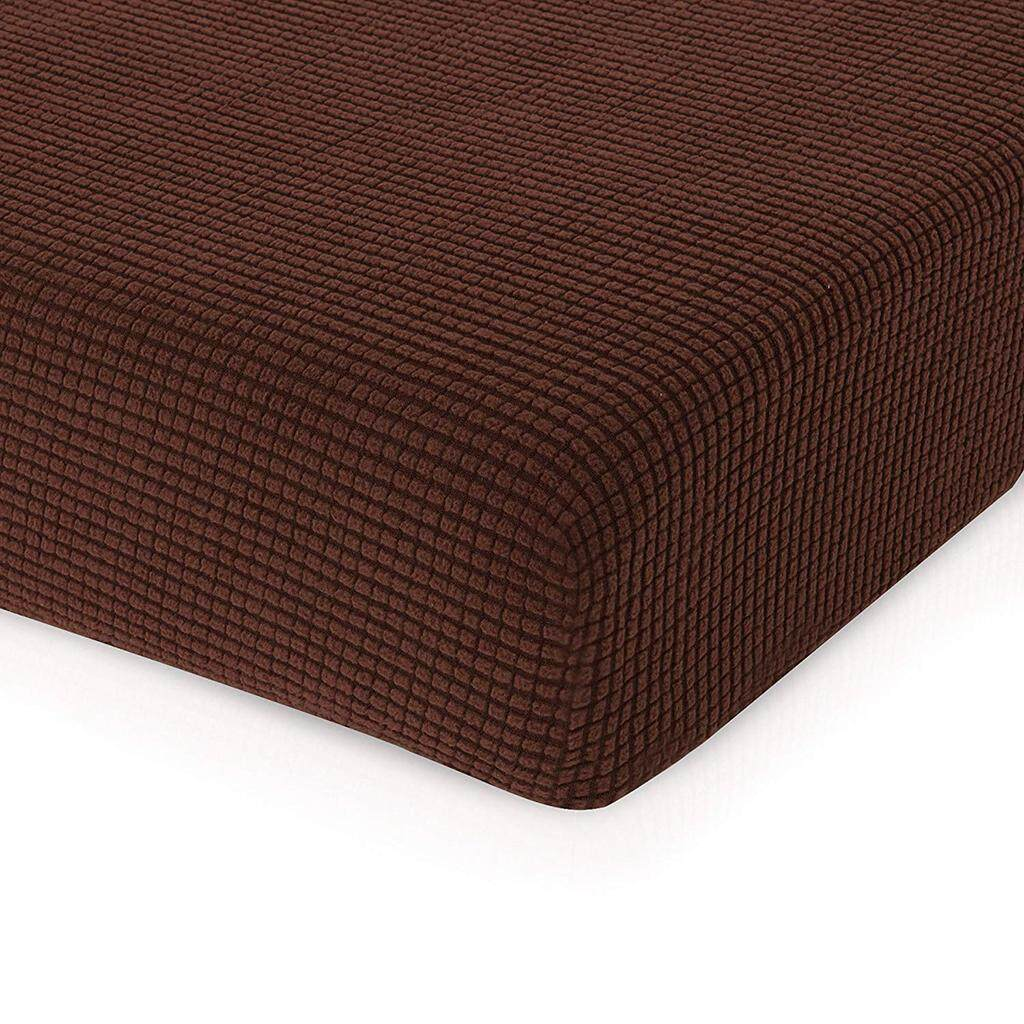 BolehDeals 3pcs Sofa Seat Cushion Cover Couch Slipcover Protector Light Brown_Size S