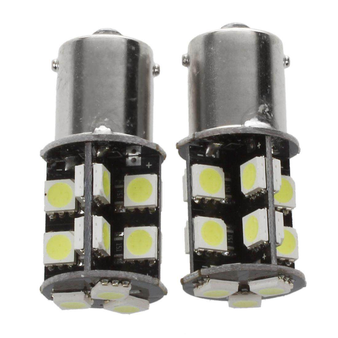 2x Auto Lamp Bulb BA15s P21W 1156 19 5050 SMD LED Canbus Error DC 12V