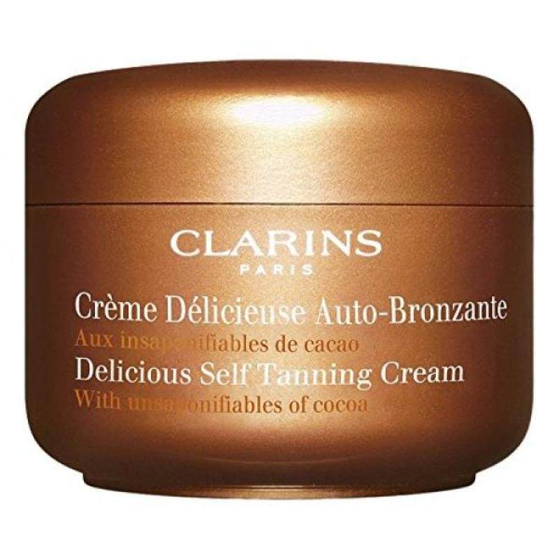 Buy Clarins Delicious Self Tanning Cream,4.5 Ounces - intl Singapore