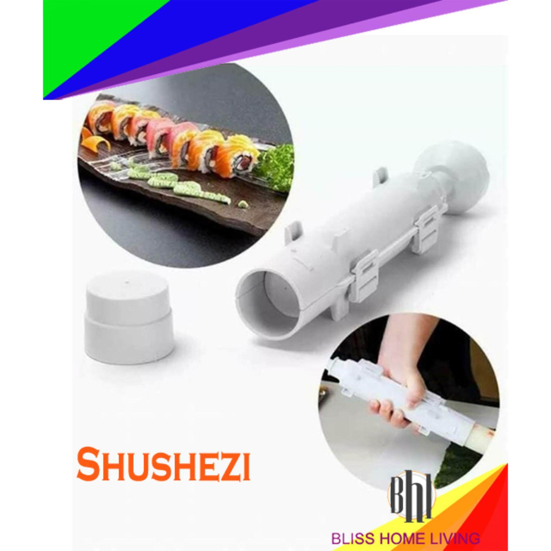 Sushezi Roller Kit Sushi Mold Maker Bazooka Sushi Rolls Making Tool Rice Mould Roller Cooking Tools
