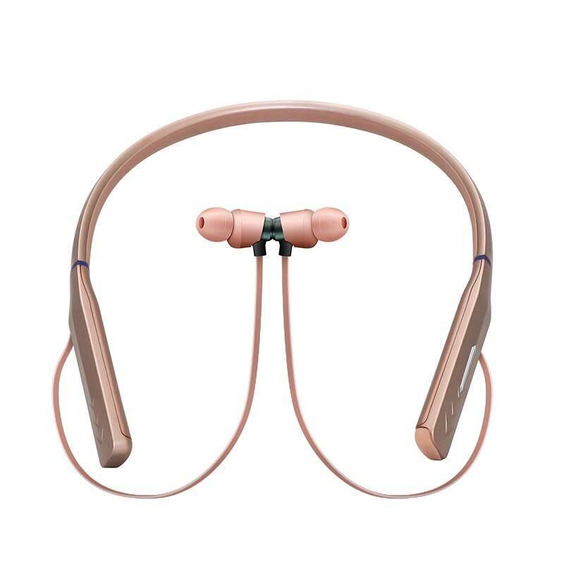 Ajkoy HWS 660 Bekas Warna Bisnis Headphone Bluetooth Perangkat Pelantang Telinga Tambahan Standby Dalam Waktu Lama Waktu Berbicara Stereo Mikrofon Tanam Hands-Free Di Telinga untuk Android iPhone