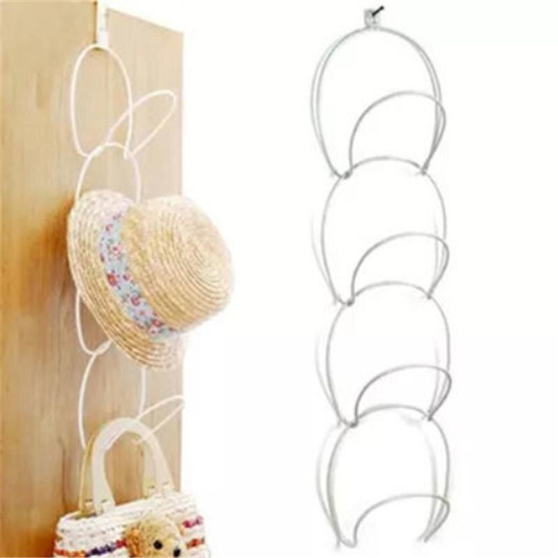 Hat Clothes Storage Hanger Hook White