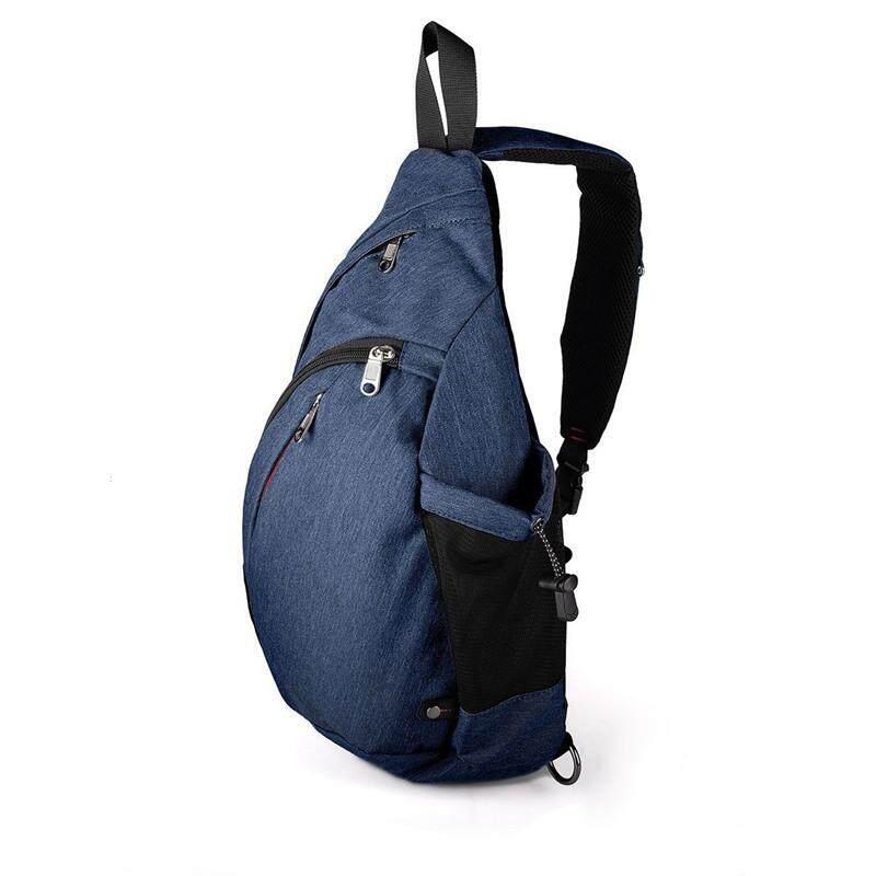 457862dc12 Large Capacity Chest Bag For Men Nylon Sling Bag Casual Crossbody Bags For  Short Trip(