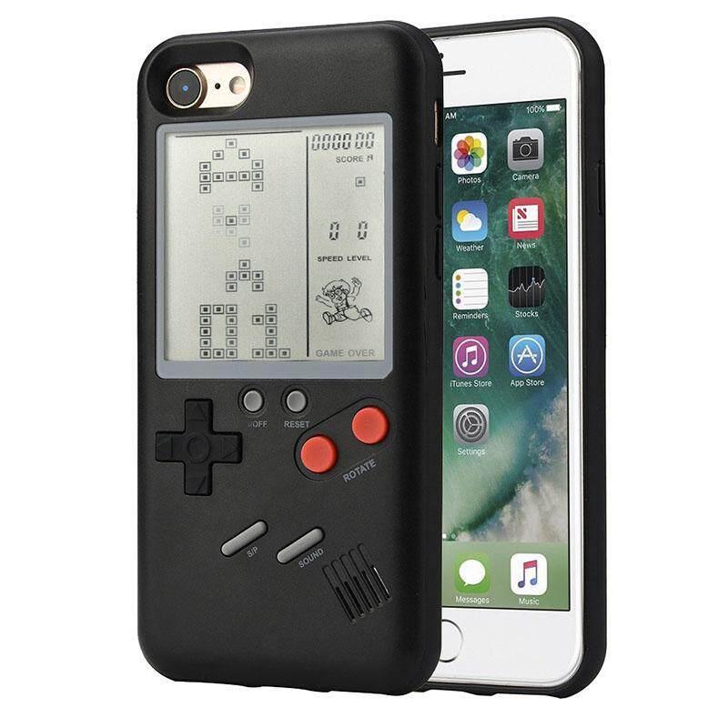 Kreatif Retro Tetris Klasik Penutup Konsol Permainan Cover UNTUK iPhone 6/6 S, 6/6 S Plus 7/8, 7/8 Plus (Tanpa Baterai) Model: Iphone 6 Plus/6 S Plus-Intl