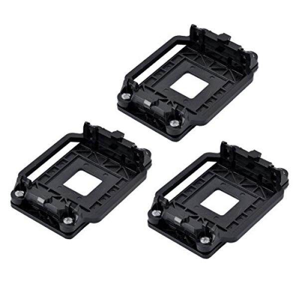 uxcell Plastic AMD CPU Fan Stand Bracket Holder Base 3pcs Black for AM2 AM3 AM2+ AM3+ Malaysia