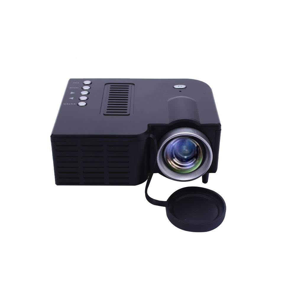 Hình ảnh UC28B Mini Portable Home Theater LED Projector Support TF Card US Plug