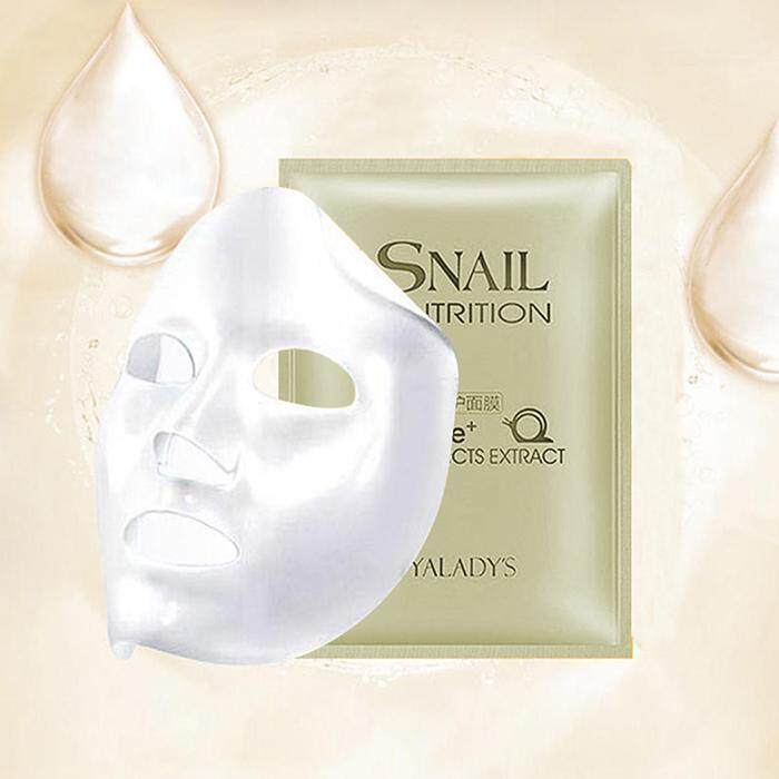Toprank Snail Essence Mask Peel-off Moisturizing Anti Aging Repairing Facial Mask - intl Philippines