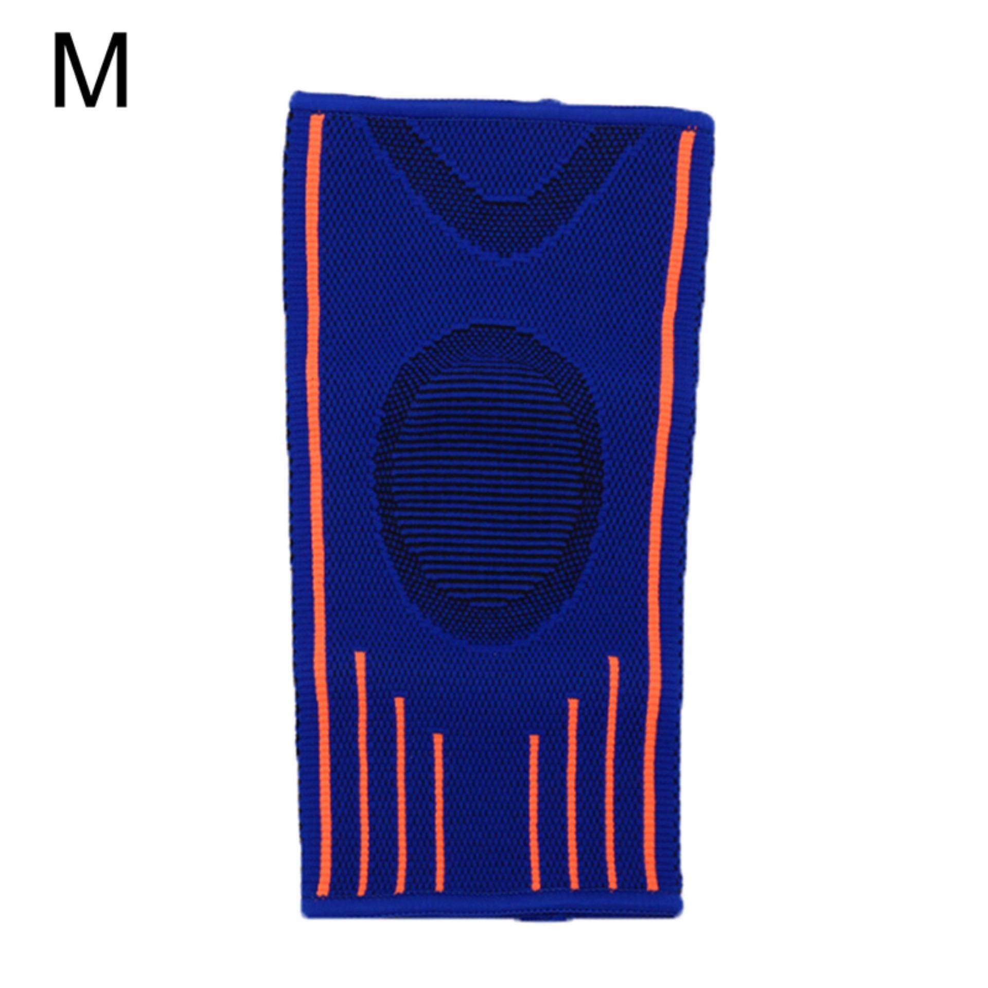 Nylon elbow brace sleeve elbow pads for sports absorb sweat elbow protection SizeM:23cm x 13.5cm x 11.5cm - intl