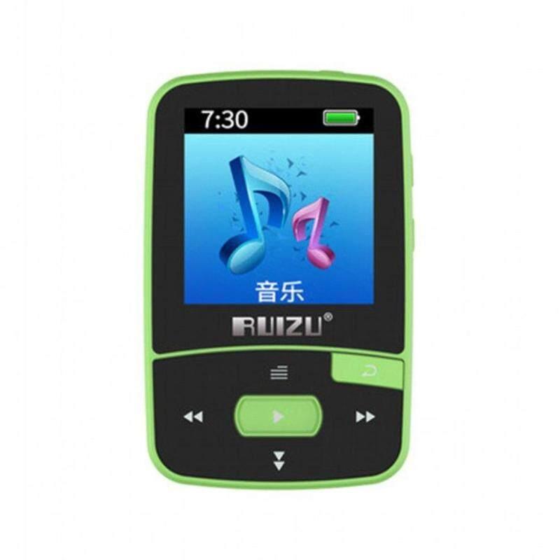 Ruizu Sport Audio Mini Bluetooth Mp3 Player Music Audio Mp 3 Mp-3 With Radio Digital Hifi Hi-Fi Screen Fm Flac Usb 8Gb Lossless