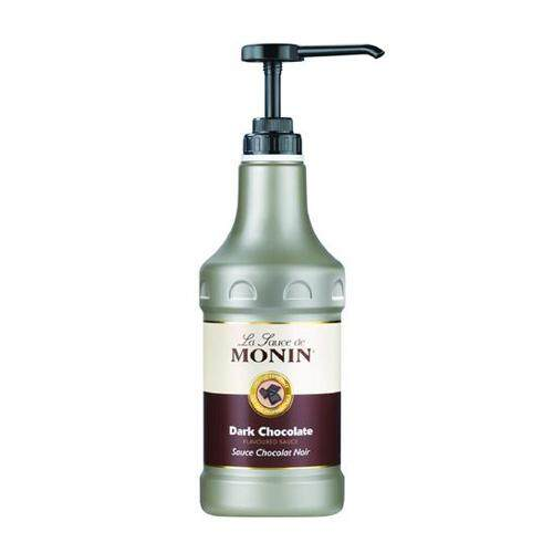 MONIN DARK CHOCOLATE GOURMET SAUCE 1.89LT