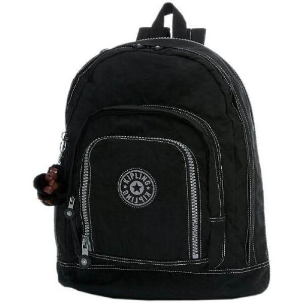 Kipling Hal Expandable Backpack, Black, One Size