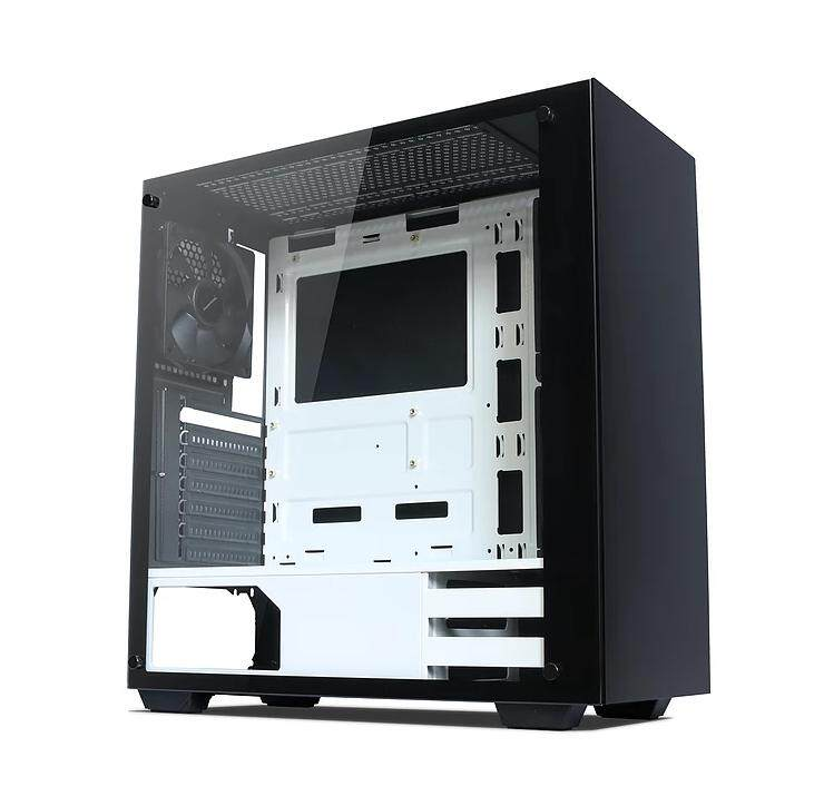 TECWARE NEXUS M TG BLACK/WHITE MATX GAMING CASE Malaysia