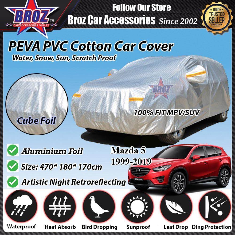 Mazda 5 Car Body Cover PEVA PVC Cotton Aluminium Foil Double Layers - MPV