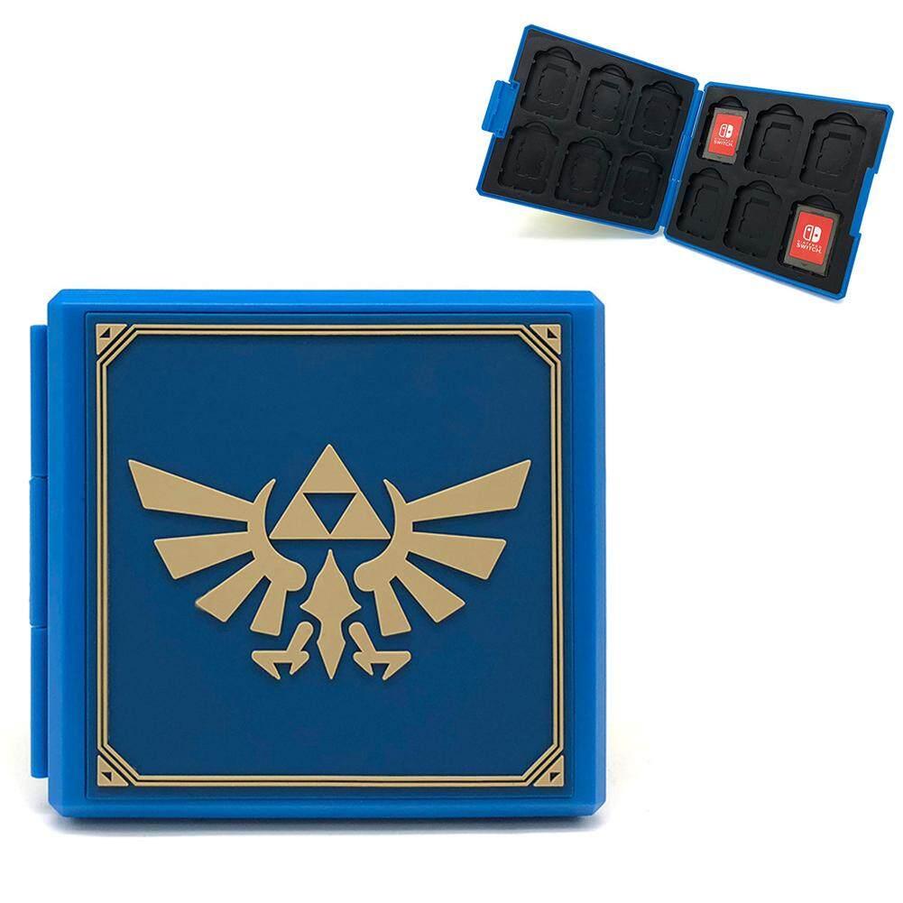 Ryt Portable Sakelar NS Wadah Kartu Permainan NS Kartu Tf Kartu SD Mikro Shockproof Kotak Penyimpanan untuk Nintendo Switch NS Game