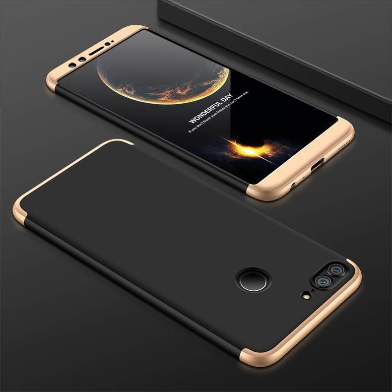 DTD GKK 360 3 In 1 Casing untuk Huawei Honor 8 Case 360 Penuh Perlindungan Case