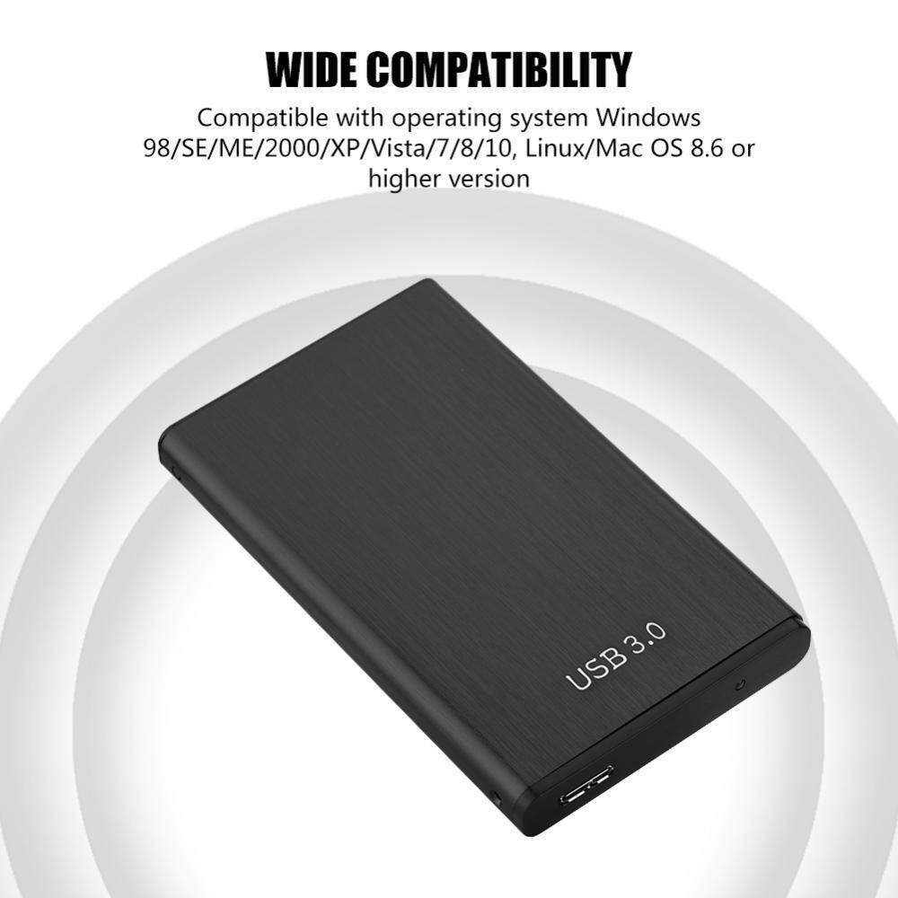 4 Warna USB 3 0 Aluminium Hard Disk Lampiran HDD Eksternal Case Kotak Internasional