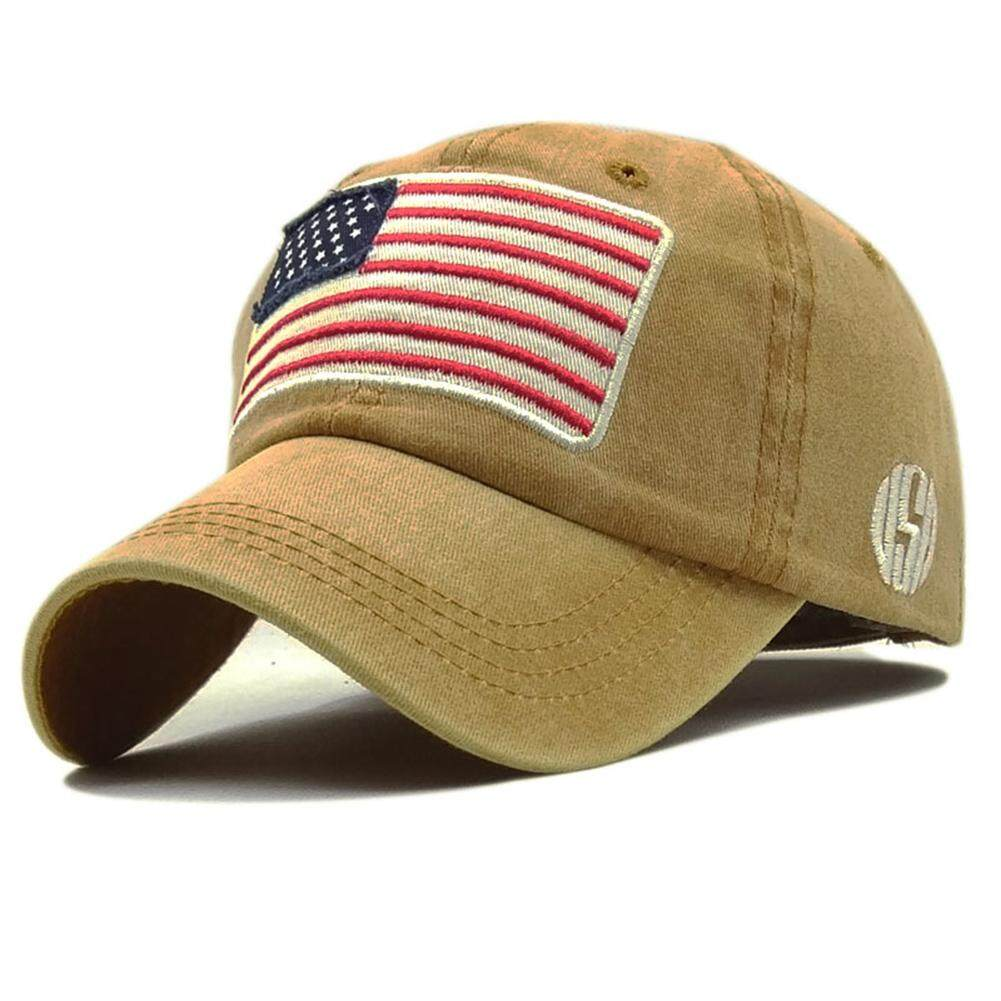 Starmall Unisex Vintage Flags Design Baseball Cap Casual Sun Hat By Super Star Mall.