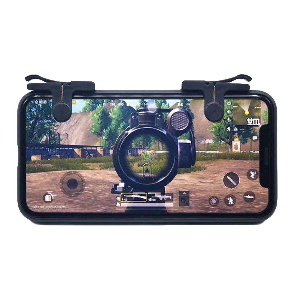 Detail Gambar Mobile Gaming Trigger Aim Fire Button Shooter Controller L1R1  for iPhone Android Terbaru d6896a9ee4