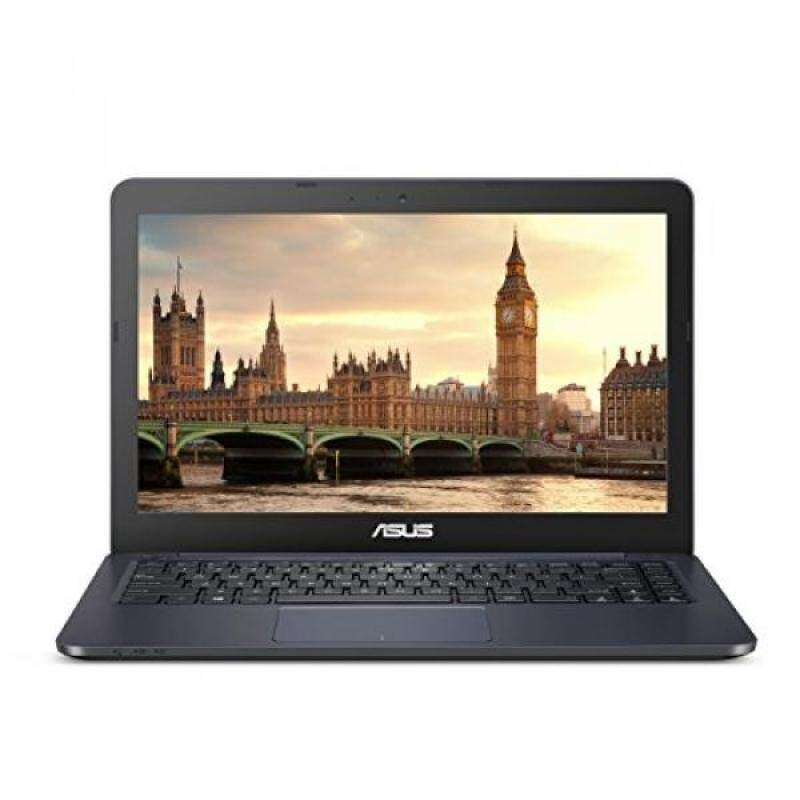 """ASUS L402WA-EH21 Thin and Light 14"""" HD Laptop; AMD E2-6110 Quad Core 1.5GHz Processor,AMD Radeon R2 Graphics,4GB RAM,32GB eMMC Flash Storage,Windows 10 S with FREE 1yr Office 365 Subscription Included - intl"""