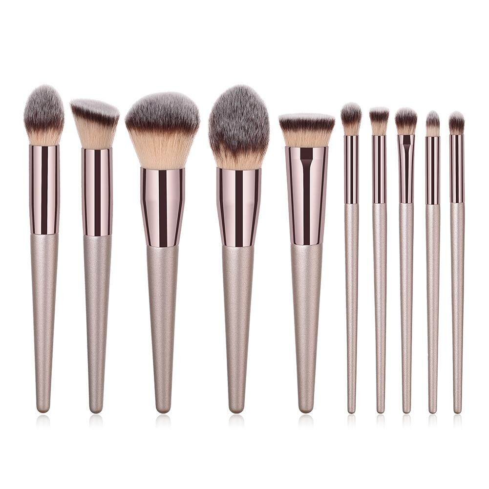 Makeup Tools Brands Accessories On Sale Prices Set Cosmetic Make Up Brush 11 With Pouch Kuas 10pcs Eyeshadow Foudantion Beauty