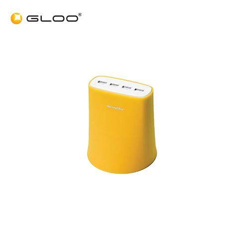 THECOOPIDEA JELLY 5.1A USB Charging Station Yellow 6942951843074
