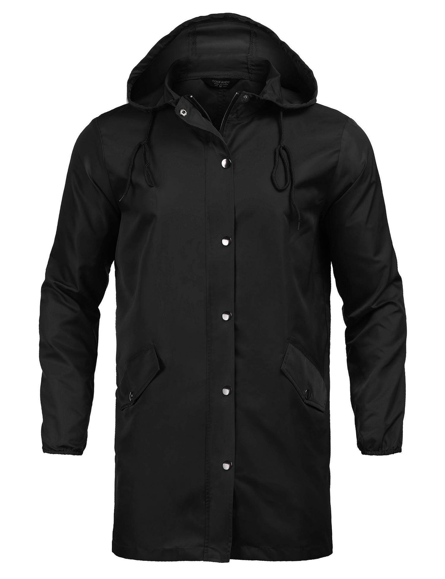 Popular Rain Coats For Men The Best Prices In Malaysia Jaket Parka Cewek Seller Supercart Unisex Long Waterproof Raincoat Adult Button Up Hooded Coat Women