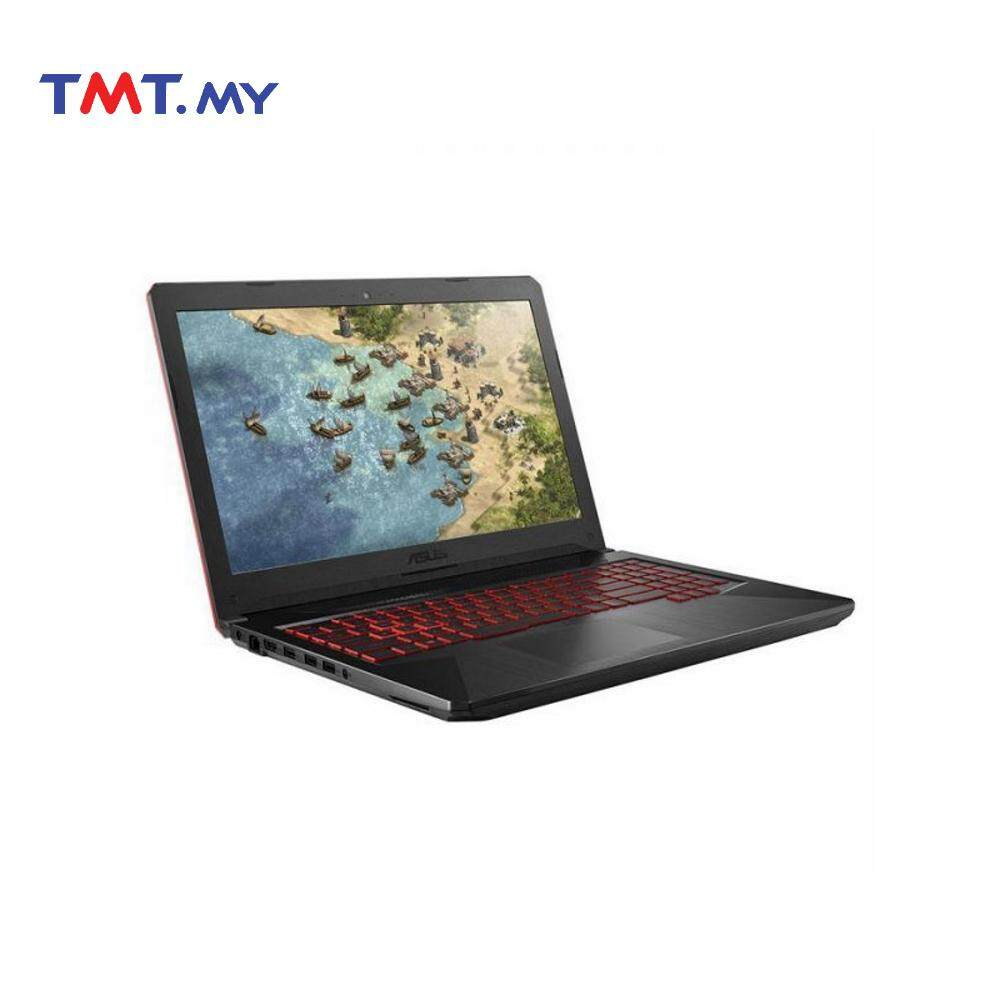 Asus TUF Gaming FX504G-DDM616T Laptop | i5-8300H | 4GB | 1TB | 15.6 | NV GTX1050 | Dos - Black Malaysia
