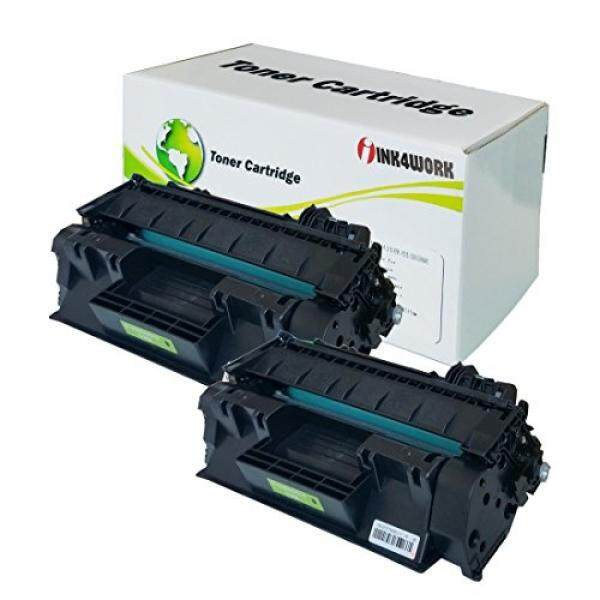 INK4WORK INK4WORK 2 Pack Replacement For HP CE505A (05A) Black Toner Cartridge Fits LaserJet P2035 P2035n P2055d P2055dn P2055X - intl