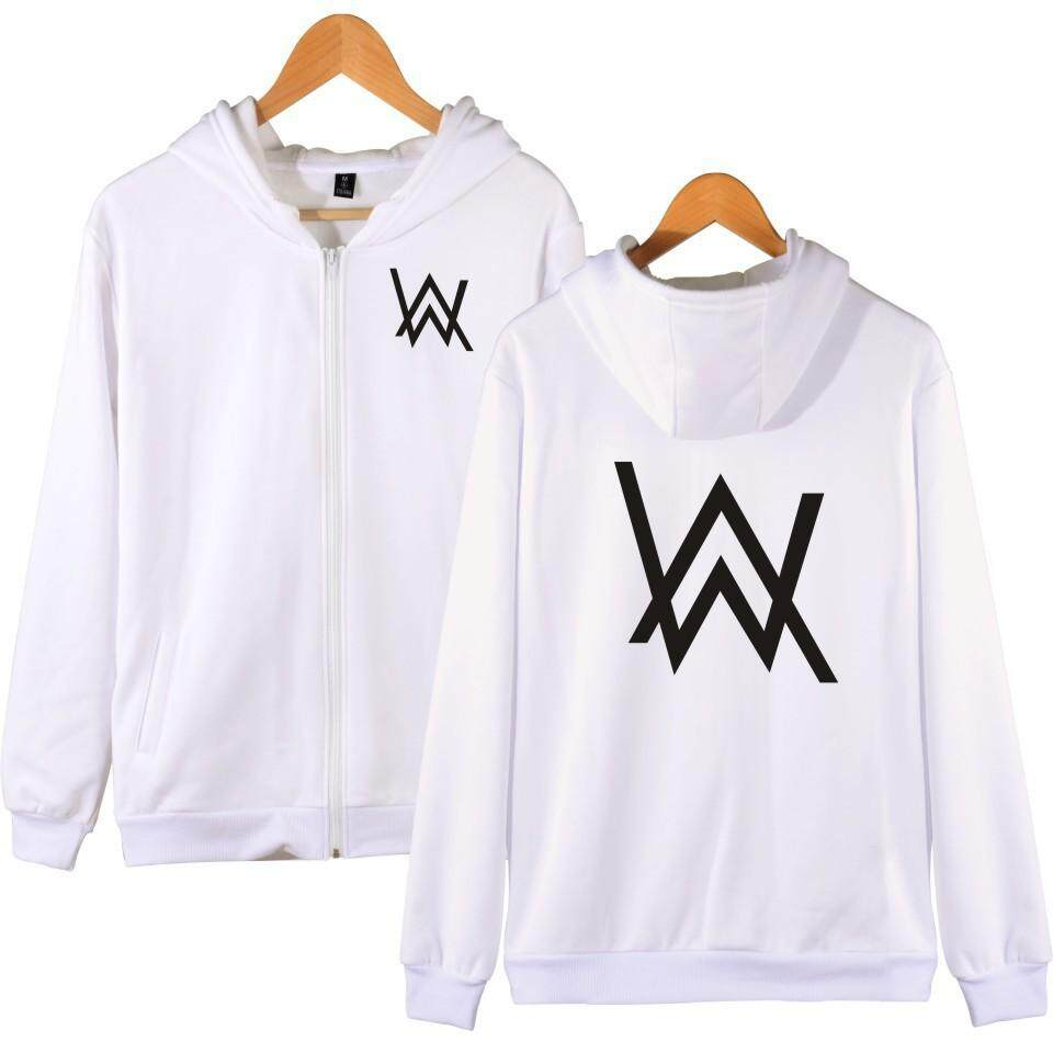 2018 Alan Walker DJ Zip Hoodie Good Quality Sweater Alan Walker The Same Section Faded Electric ...