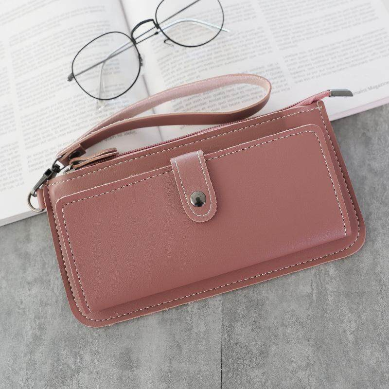 Bolster Store Korean Fashion Wristlet Clutch Handbag Pouch Coin Bag Dinner Bag Small Purse Wallet