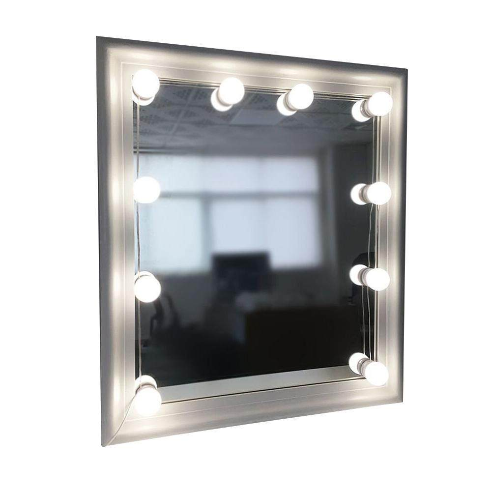 OrzBuy (ready Stock 10X) Hollywood Style Vanity Mirror Lights With 10 Dimmable LED Bulbs Kit , USB Powered Lighting Fixture Strip For Makeup Vanity Mirror Table Set In Dressing Room - intl Philippines