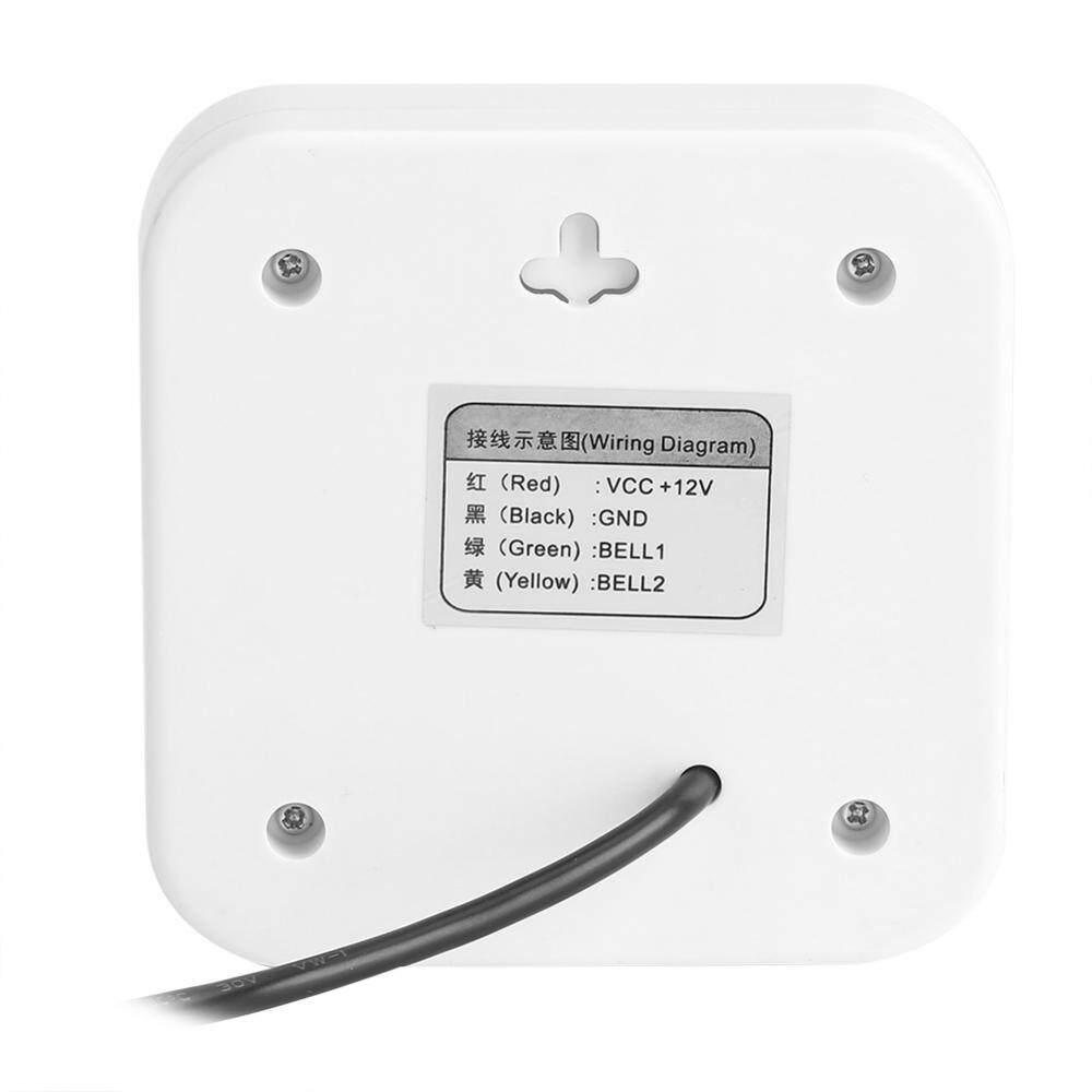 Cek Harga Justgogo Dc 12v Wire Doorbell Door Bell Alarm For Home Wiring A System Gambar Product Lengkap Office Access Control Terbaru